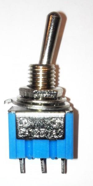 Kippschalter SPDT 3P. ON/ON 125V 6A