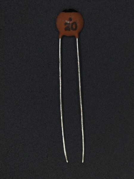 20pf 50V Keramik-Scheibenkondensator