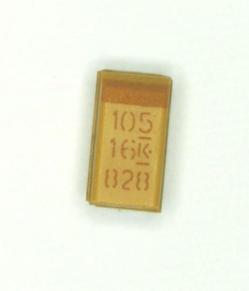 1µF 16V SMD Tantal Elektrolit Kondensator