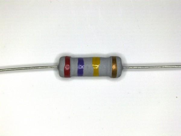 270 KOhm 1 Watt ±5% Carbon Film