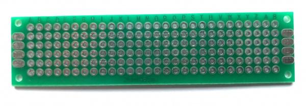 Prototype PCB Doppelseitig 20mm x 80mm