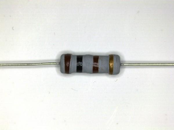 180 Ohm 1 Watt ±5% Carbon Film