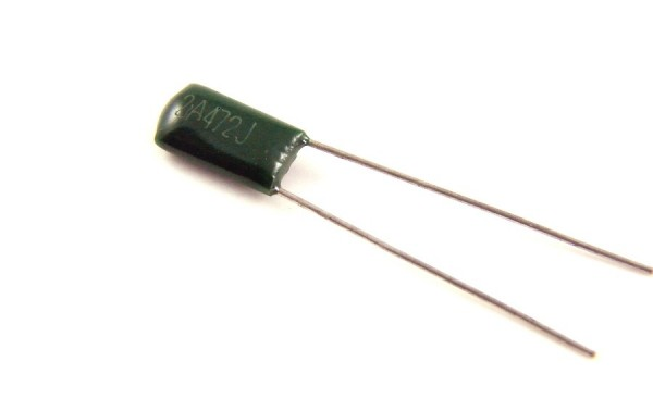 4,7nf 100V - 2A472J Polyester Folienkondensator