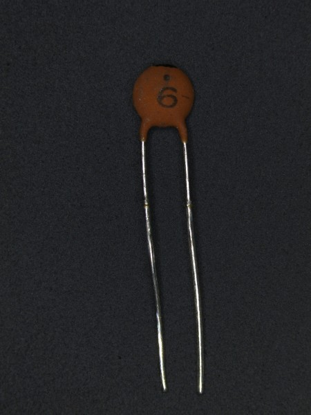 6pf 50V Keramik-Scheibenkondensator