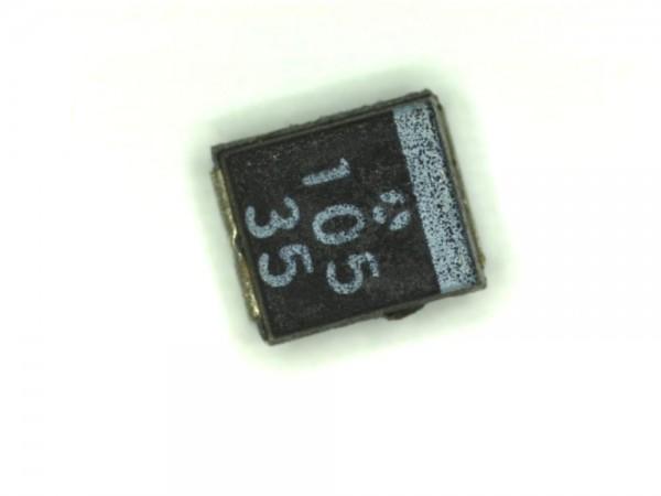 1µF 35V SMD Elektrolit Kondensator