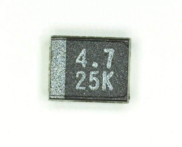 4,7µF 25V SMD Elektrolit Kondensator