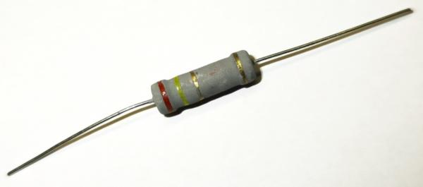 2,4 Ohm 2 Watt ±5% Metalloxyd