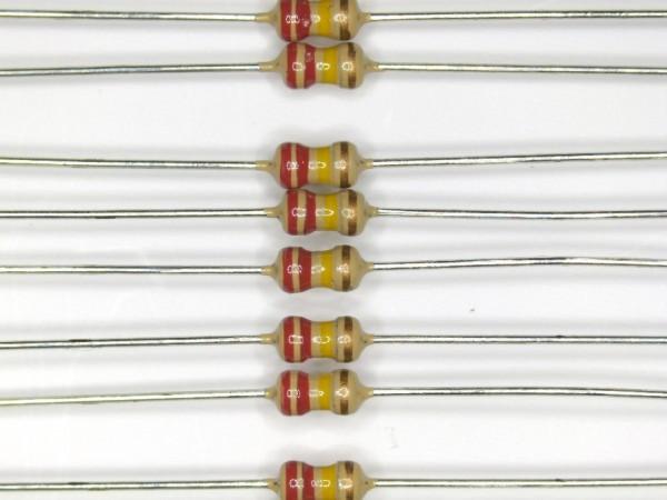 220 KOhm 1/6 Watt ±5% Carbon Film