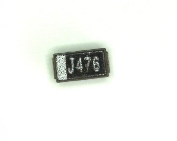 47µF 6,3V SMD Elektrolit Kondensator