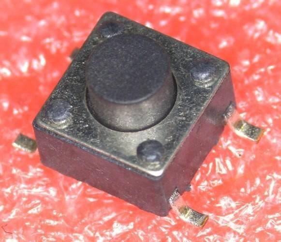 SMD Kurzhubtaster 6,0x6,0x5,4 mm
