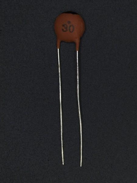 30pf 50V Keramik-Scheibenkondensator
