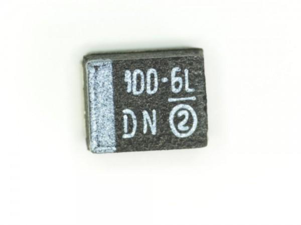 100µF 6,3V SMD Elektrolit Kondensator