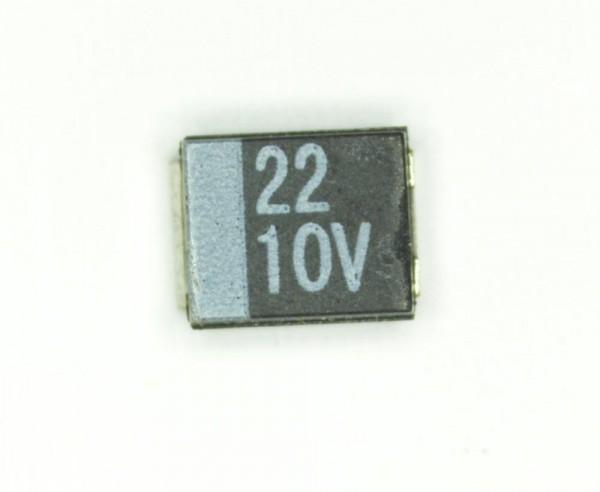 22µF 10V SMD Elektrolit Kondensator