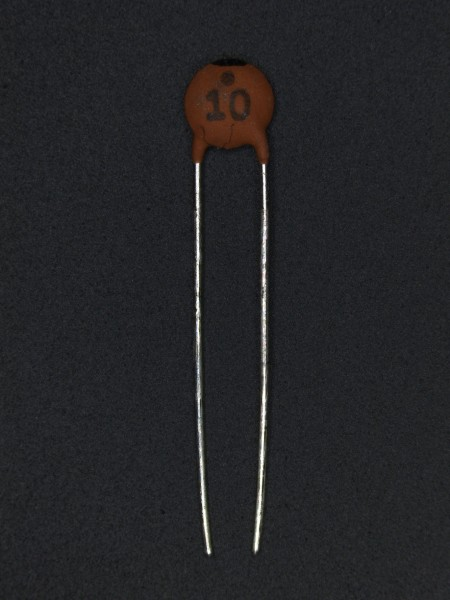 10pf 50V Keramik-Scheibenkondensator
