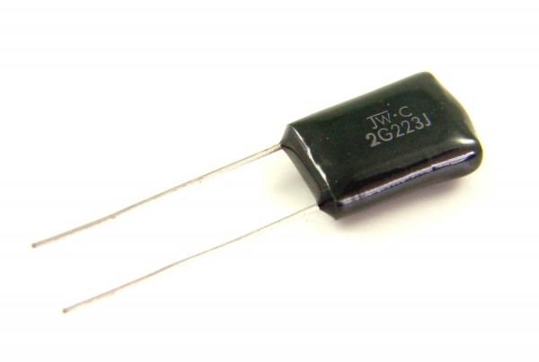 22nf 400V - 2G223J Polyester Folienkondensator