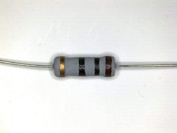 10 Ohm 1 Watt ±5% Carbon Film