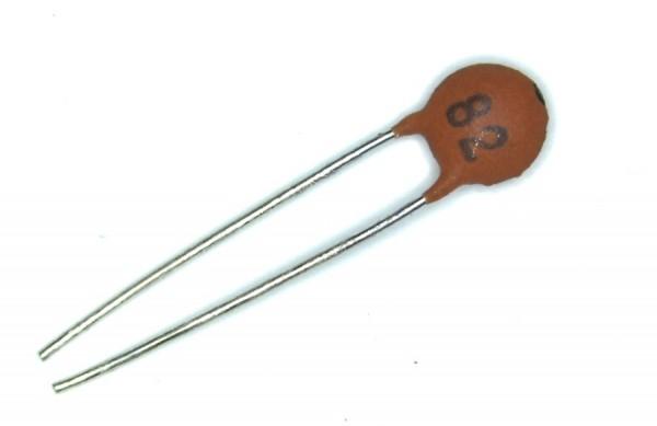 82pf 50V Keramik-Scheibenkondensator