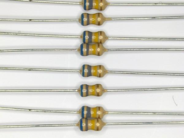 680 KOhm 1/6 Watt ±5% Carbon Film