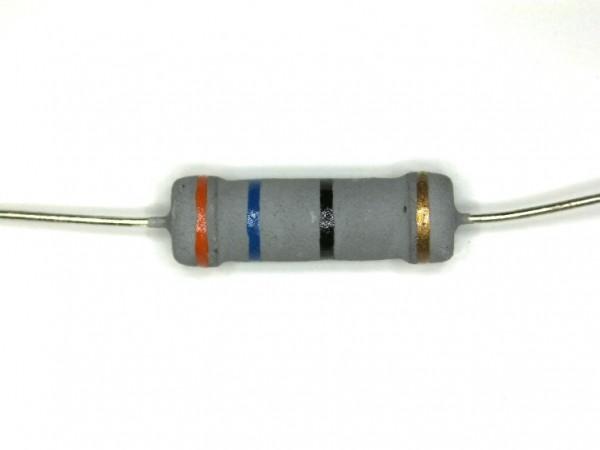 36 Ohm 2 Watt ±5% Metalloxyd