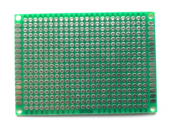 Prototype PCB Doppelseitig 50mm x 70mm