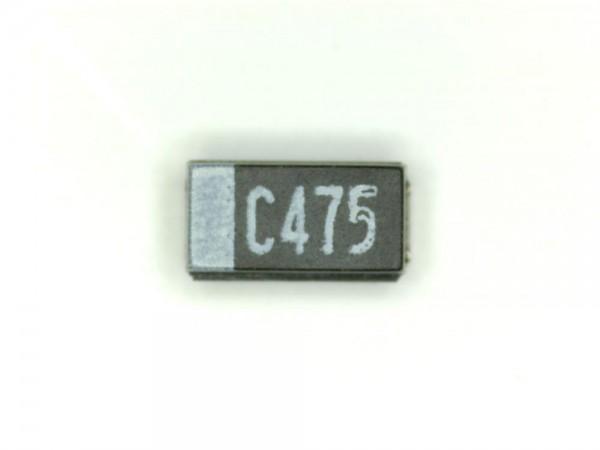 4,7µF 16V SMD Elektrolit Kondensator