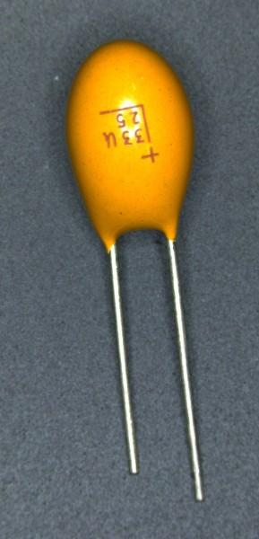 33µf 25V Tantalkondensator
