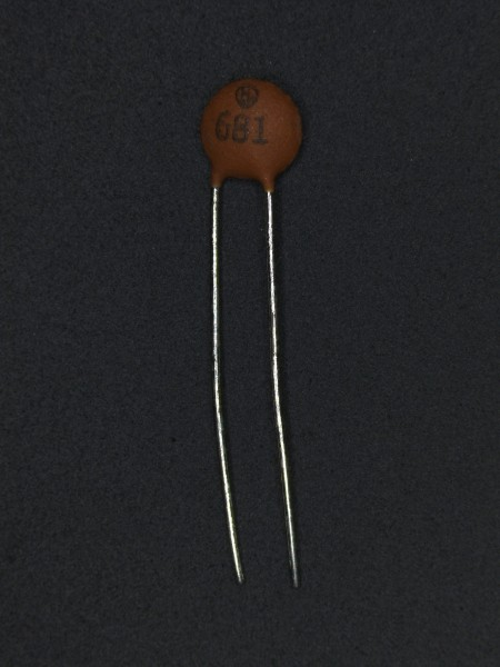 680pf 50V Keramik-Scheibenkondensator
