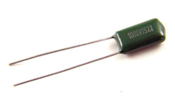 1,5nf 1000V - 3A152J Polyester Folienkondensator