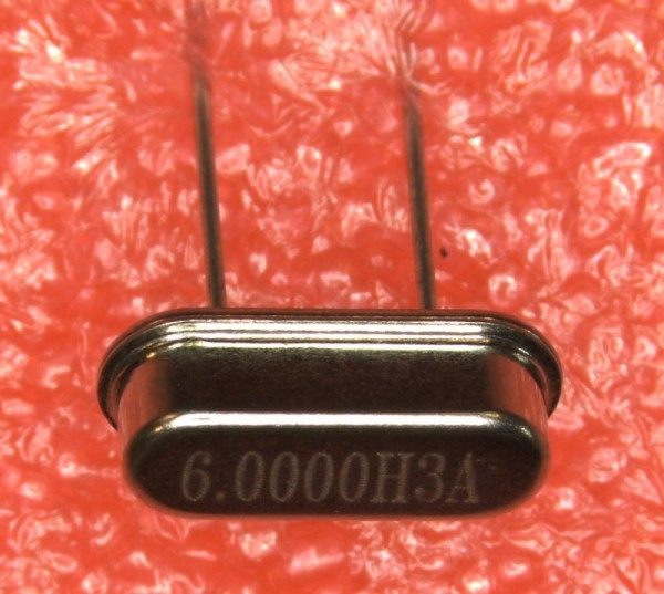 6 MHz Quarz HC-49S