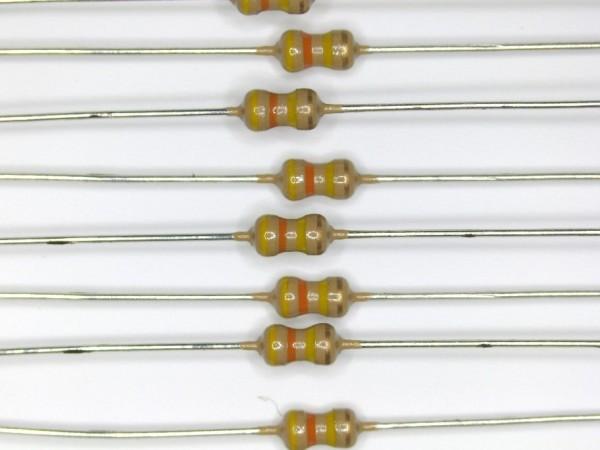 430 KOhm 1/6 Watt ±5% Carbon Film