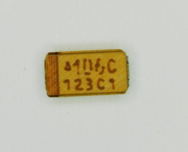 10µF 16V SMD Tantal Elektrolit Kondensator
