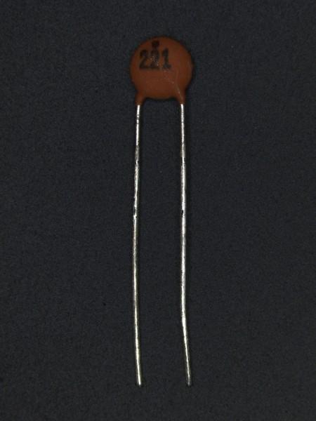 220pf 50V Keramik-Scheibenkondensator