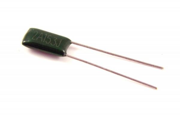 15nf 100V - 2A153J Polyester Folienkondensator