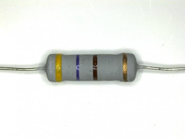 470 Ohm 2 Watt ±5% Metalloxyd