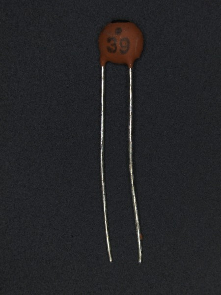 39pf 50V Keramik-Scheibenkondensator