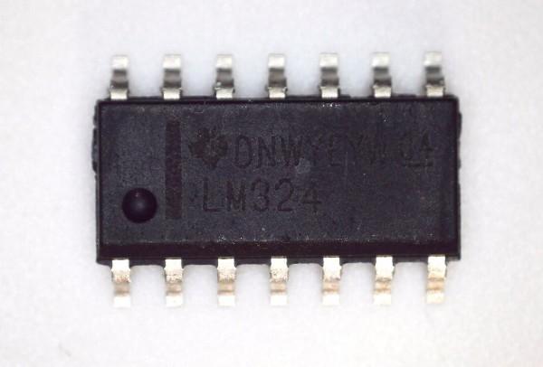 LM324 4-fach Operationsverstärker