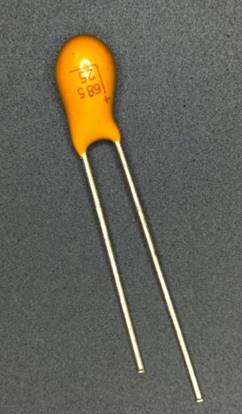 6,8µf 25V Tantalkondensator