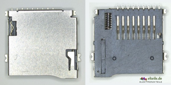 MicroSD Anschluss / MicroSD Schacht