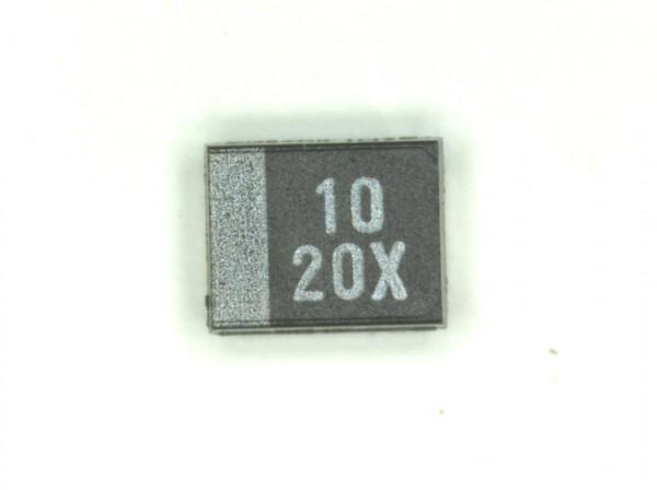 10µF 20V SMD Elektrolit Kondensator