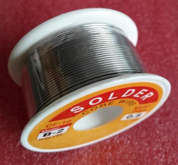 Lötzin ø 0,5mm bleihaltig