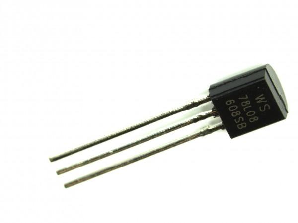 78L08 Spannungsregler 8V TO92