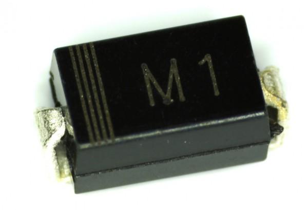 1N4001 (M1) DO-214AC SMA