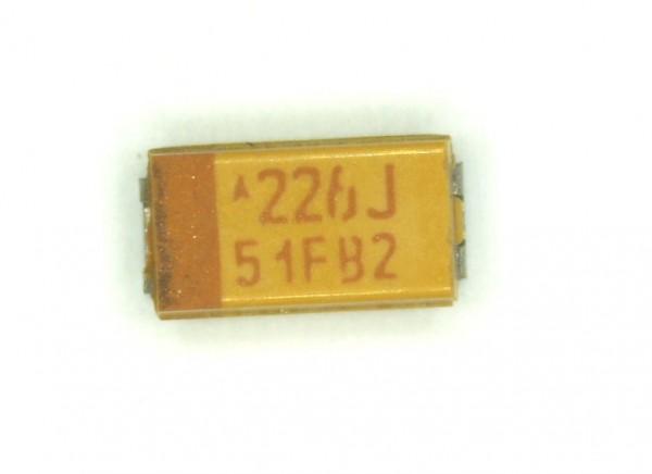22µF 6,3V SMD Tantal Elektrolit Kondensator
