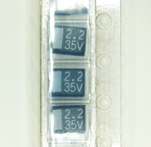 2,2µF 35V SMD Elektrolit Kondensator
