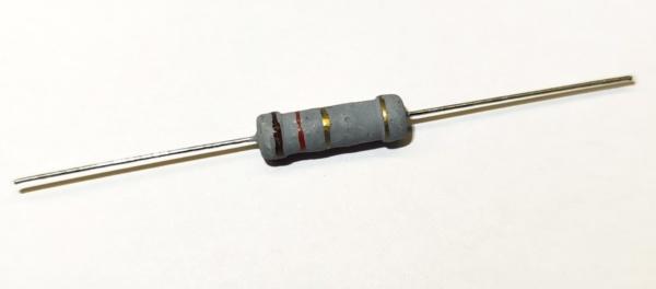 1,2 Ohm 2 Watt ±5% Metalloxyd