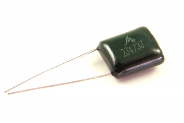 47nf 630V - 2J473J Polyester Folienkondensator