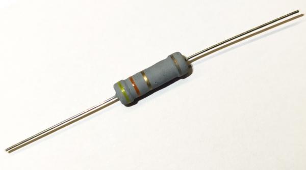 4,3 Ohm 2 Watt ±5% Metalloxyd