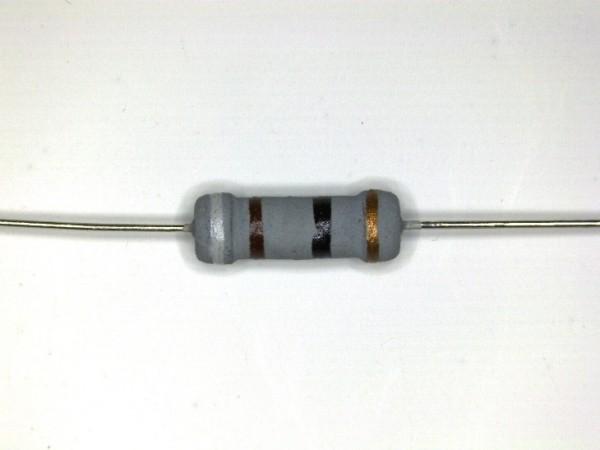 91 Ohm 1 Watt ±5% Carbon Film