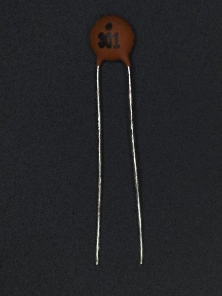 300pf 50V Keramik-Scheibenkondensator