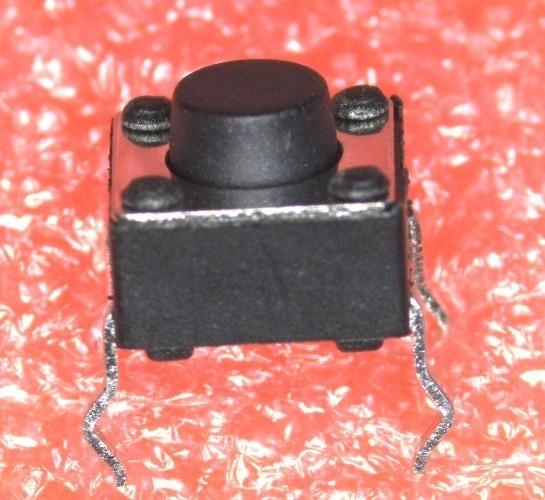 DIP Kurzhubtaster 6,0x6,0x5,0 mm, liegend